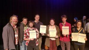 Festival award winners